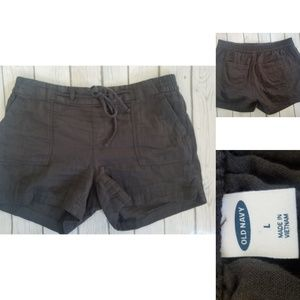 Old Navy Pull-On Shorts, Black